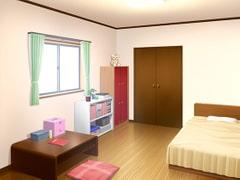 フリー背景素材 住宅 部屋1