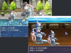 "2D・RPG用敵グラフィック025""半魚人"""