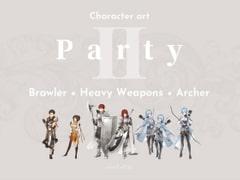 CHARACTER ART   Part-2: Brawler + Heavy Weapons + Archer