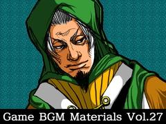 Game BGM Materials Vol.27